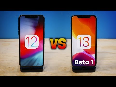 iOS 13 vs iOS 12 on iPhone X: ULTIMATE Speed Test!