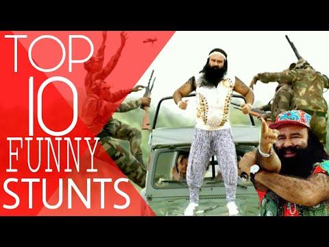 TOP 10 Funny Stunts 😂😂😂 by RAM RAHIM SINGH.