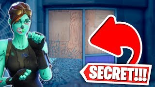 We found a SECRET DOOR in Fortnite!! w/PrestonPlayz