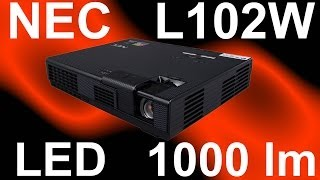 LED проектор NEC L102W(NEC - это всегда очень надежные проекторы и более других соответствующие заявленным характеристикам. По..., 2014-02-18T13:15:09.000Z)