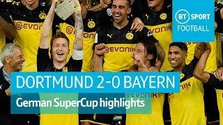 Dortmund vs Bayern Munich (2-0) | DFL-Supercup Highlights