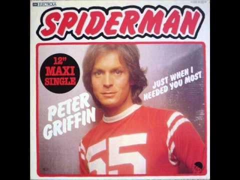 Peter Griffin - Spiderman  (1979) Original 12'' Vinyl
