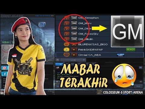 MABAR TERAKHIR BERSAMA 5 GM GARENA - Point Blank Indonesia