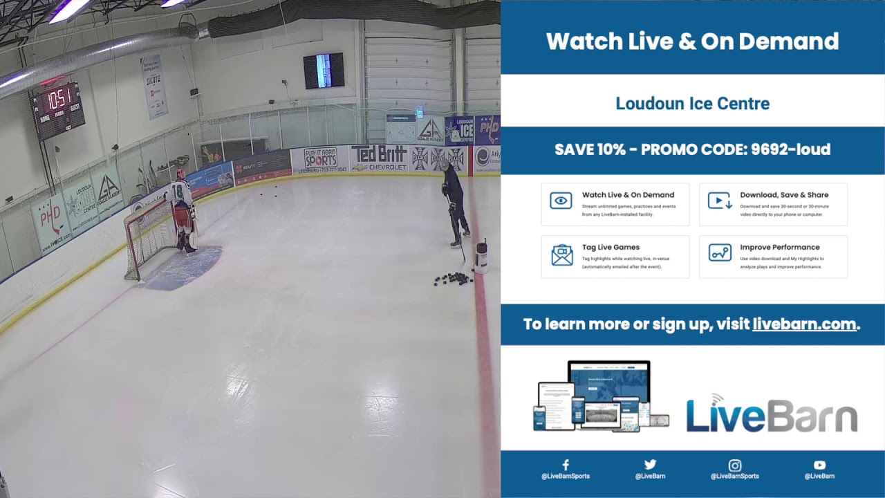 Loudoun Ice Centre Now Has Live Barn
