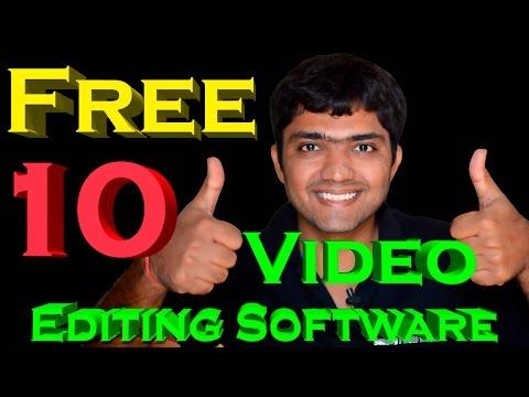 10 Free Video Editing Softwares (Hindi)
