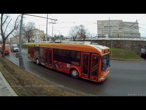 Иду от Белорусского вокзала снимать троллейбус 20