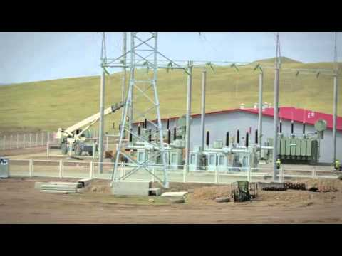 Salkhit Windfarm Project in Mongolia