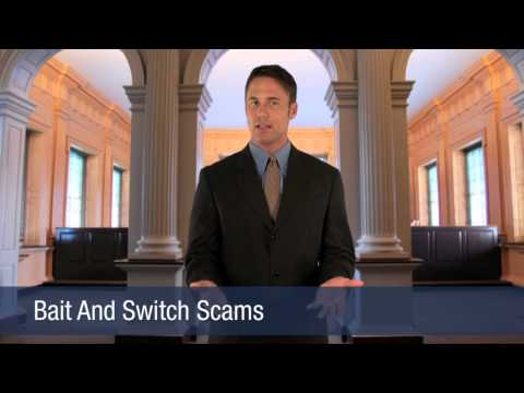 Bait And Switch Scams