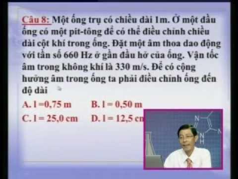 Ôn tập Lý 12: Sóng cơ - giao thoa sóng - sóng dừng (phần 2)