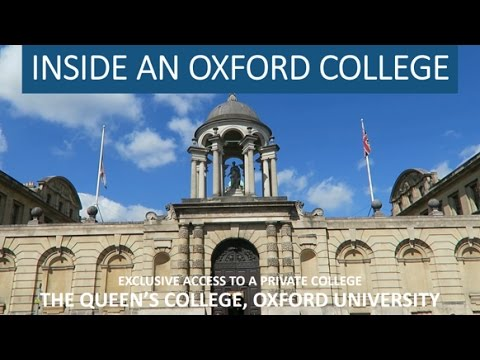 VLOG// TOUR of an University of OXFORD College: Queen's 🏛