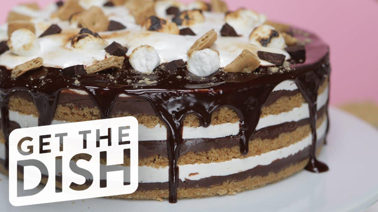 How To Make This Easy No Bake Smores Cake