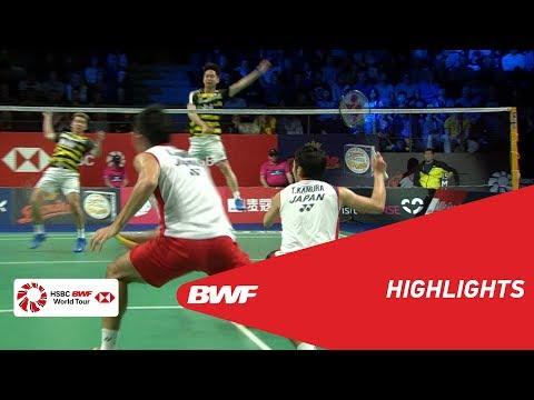 DANISA DENMARK OPEN 2018 | Badminton MD - F - Highlights | BWF 2018