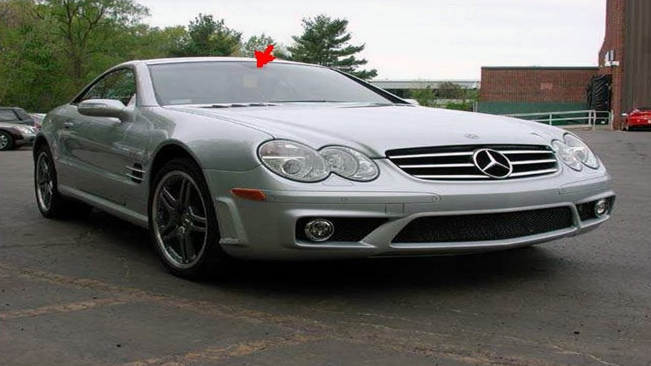 mercedes benz sl component locations r230 pt 09 youtube rh youtube com