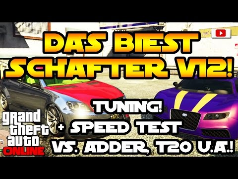 GTA 5 Online -  Schafter V12 DAS BIEST Tuning + Speed Test! [Executives And Other Criminals Update]