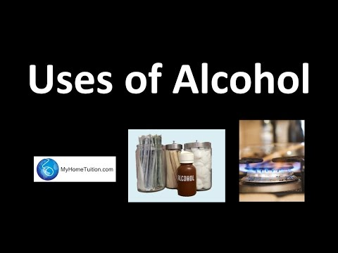 Uses Of Alcohol | Carbon Compound