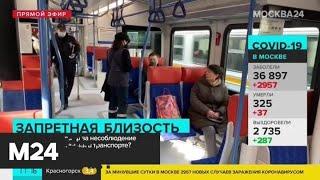 Что грозит за несоблюдение социальной дистанции в транспорте - Москва 24