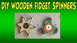 DIY HOMEMADE WOOD FIDGET SPINNER | Giveaway Updates