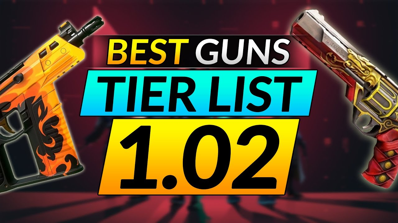MOST BROKEN WEAPONS TIER LIST - Ranking the Best and Worst Guns in Patch 1.02 - Valorant Pro Guide