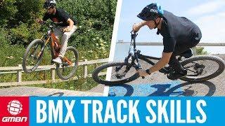 Using A BMX Track To Improve Mountain Bike Skills