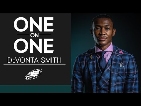 Get to Know First-Round Pick DeVonta Smith   Eagles One-On-One