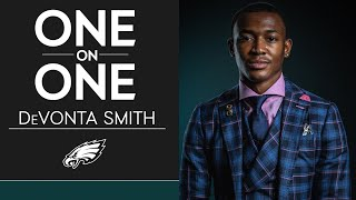 Get to Know First-Round Pick DeVonta Smith | Eagles One-On-One
