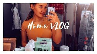 Домашний ВЛОГ| Покупки из IKEA| Готовлю гранолу| Ухаживаю за волосами