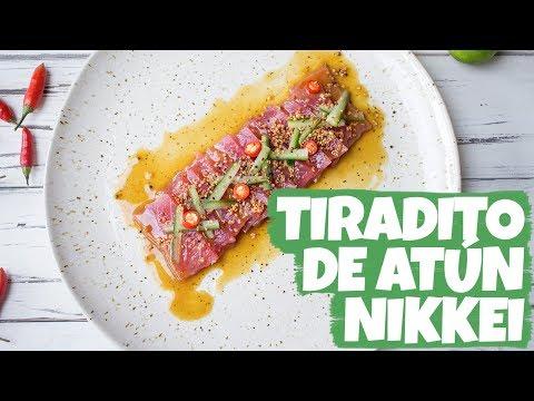 ESPECIAL DE PERÚ: Tiradito de Atún Nikkei | Cravings Journal español
