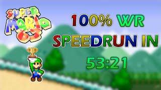 [WR] Super Mario 63 100% Speedrun in 53:21