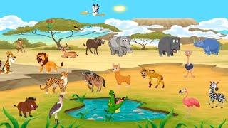 Belajar Mengenal Suara Hewan Untuk Anak - Animal Sound for Kids
