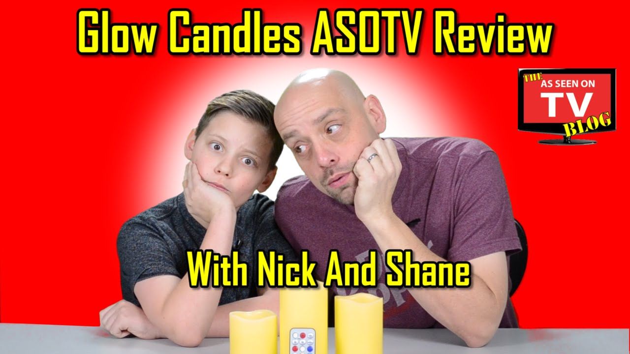 glow candles review with nick and shane do glow candles really work glow candles as seen on. Black Bedroom Furniture Sets. Home Design Ideas