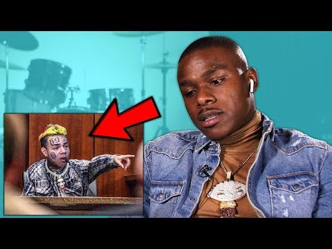 DaBaby Reacts To 6ix9ine Snitching  In Court