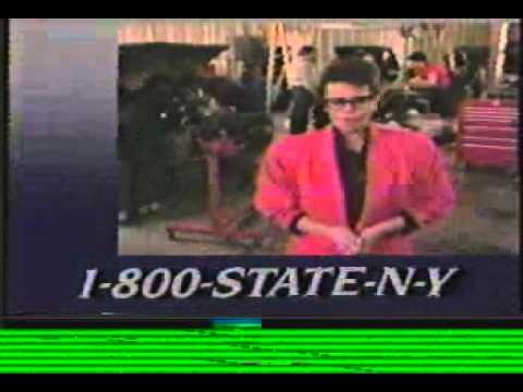 New York State Department of Labour Commercial - 1990