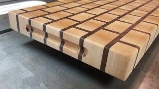 Brick Wall Pattern Cutting Board
