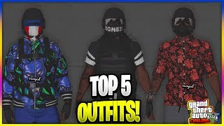 *NEW* MODDED AFTER HOURS OUTFITS USING CLOTHING GLITCHES *PATCH 1.44* (GTA 5 MODDED OUTFITS)