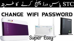 How to CHANGE WIFI PASSWORD on STC Homebroadband 101