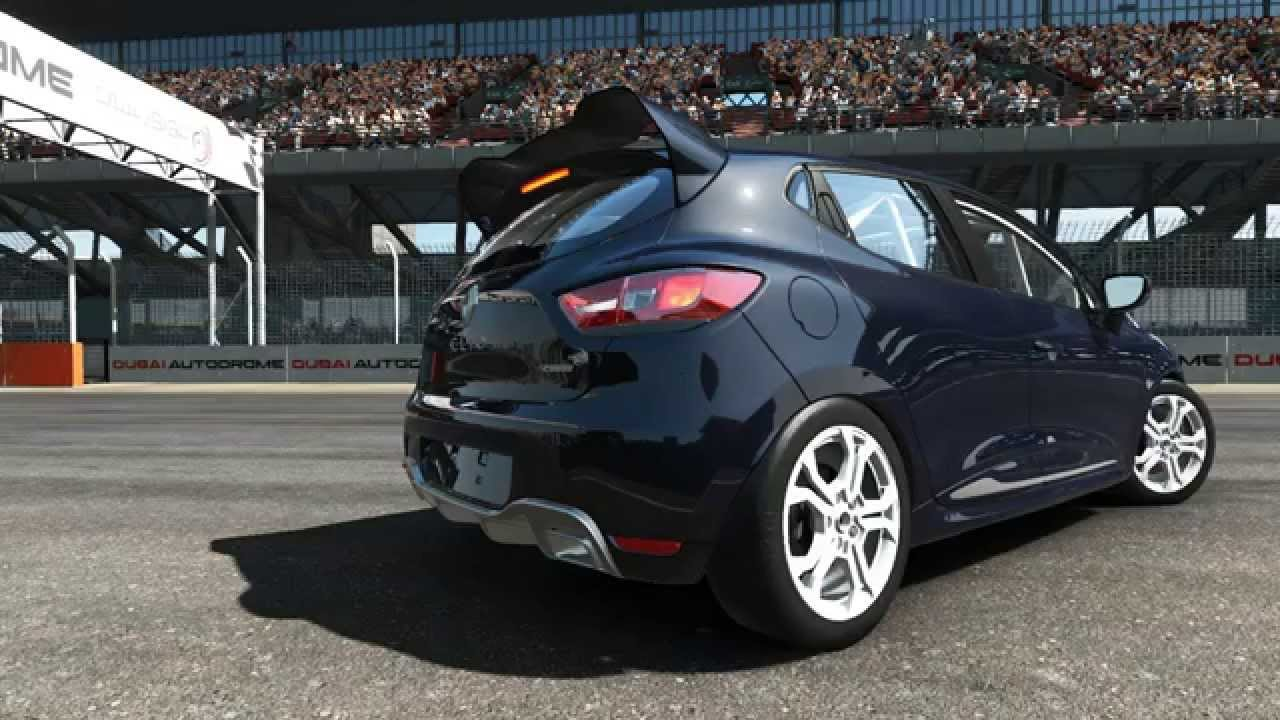 project cars new renault clio iv rs cup youtube. Black Bedroom Furniture Sets. Home Design Ideas