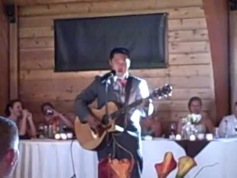 Hey Buddy - Best Man Speech Turned into Surprise Song