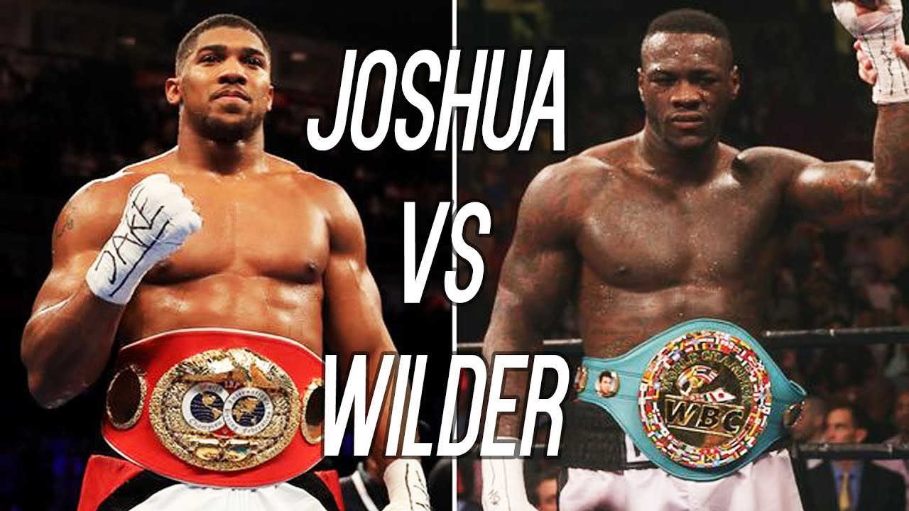 Anthony Joshua Vs Deontay Wilder