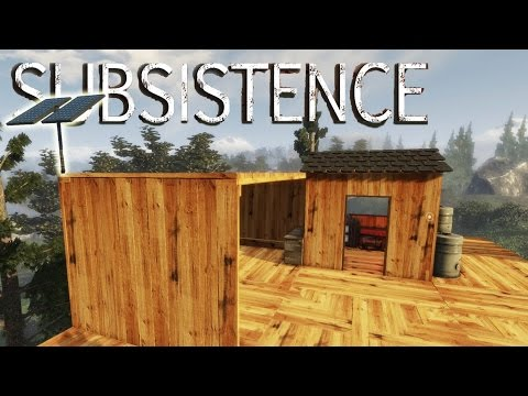 Subsistence - We've Got Solar Energy! Solar Panel Update + Base Building - Gameplay Highlights Ep 11