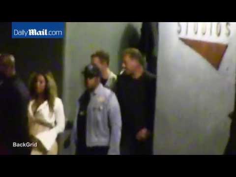 Beyonce leaves Mack Sennett Studios in Los Angeles (July 13) [BeyonceOnline.org]