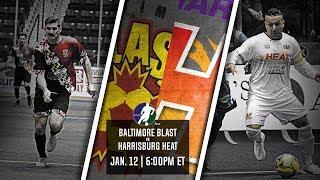Baltimore Blast vs Harrisburg Heat