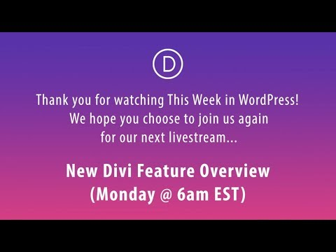 This Week in WordPress (February 3 to 9 2018)