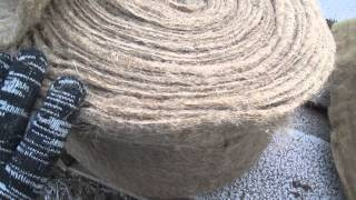 видео Лен, джут, межвенцовый джутовый утеплитель (полотно, волокно). Купить