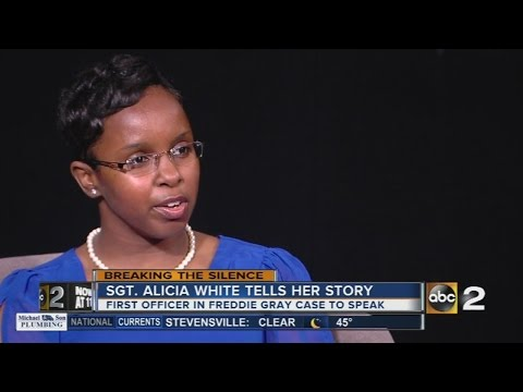 Sgt. Alicia White, officer charged in Freddie Gray case, tells her story