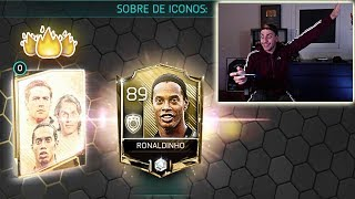 ICONOS EN FIFA 18 MOBILE... ÉLITE ASEGURADO !!!