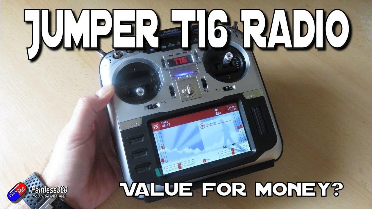 Jumper T16 Owner's Thread - (2 4G 16CH OpenTX Multi-protocol Radio