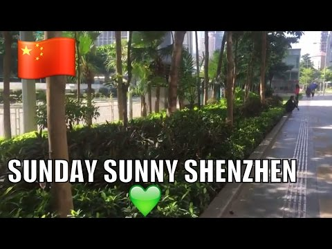SUNDAY WALK & TALK IN SHENZHEN FUTIAN CBD