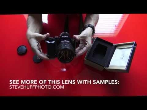 The Mitakon 50 f/0.95 Full Frame Lens for Sony
