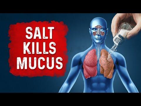 Reduce Respiratory Mucus with Salt
