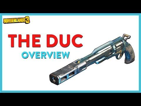 The Duc Overview | Legendary Pistol | Borderlands 3